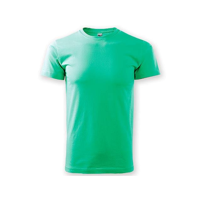 SHIRTY unisex tričko, 200 g/m2, vel. M, ADLER, Mátově zelená - zelená