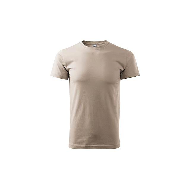 SHIRTY unisex tričko, 200 g/m2, vel. M, ADLER, Přírodní - béžová