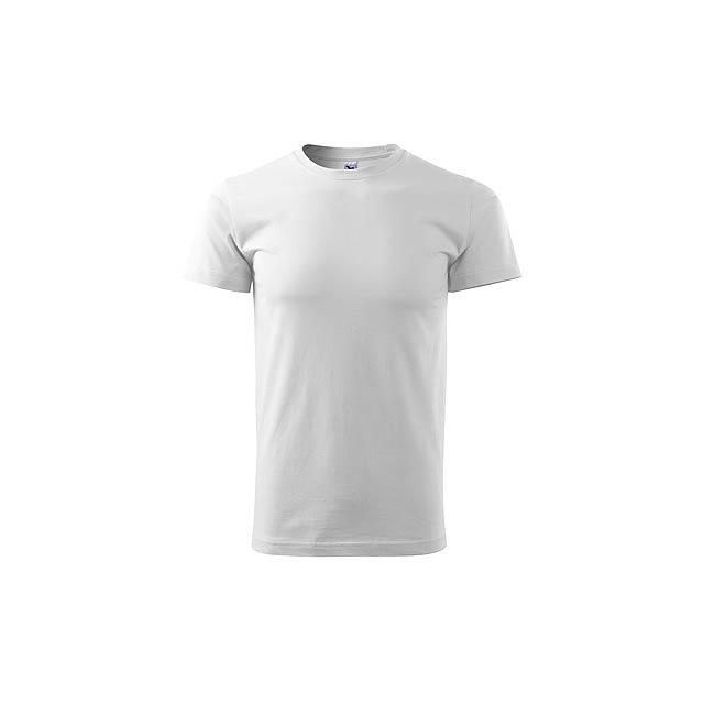 SHIRTY - unisex tričko, 200 g/m2, vel. L, ADLER - bílá