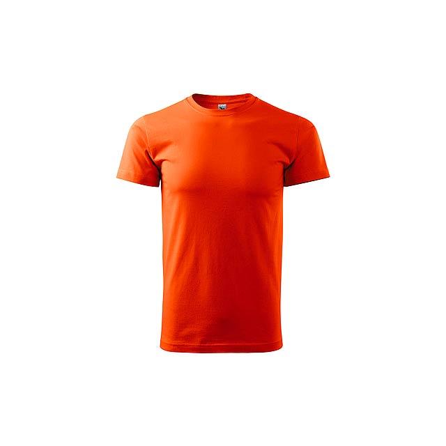 SHIRTY unisex tričko, 200 g/m2, vel. L, ADLER, Oranžová - oranžová