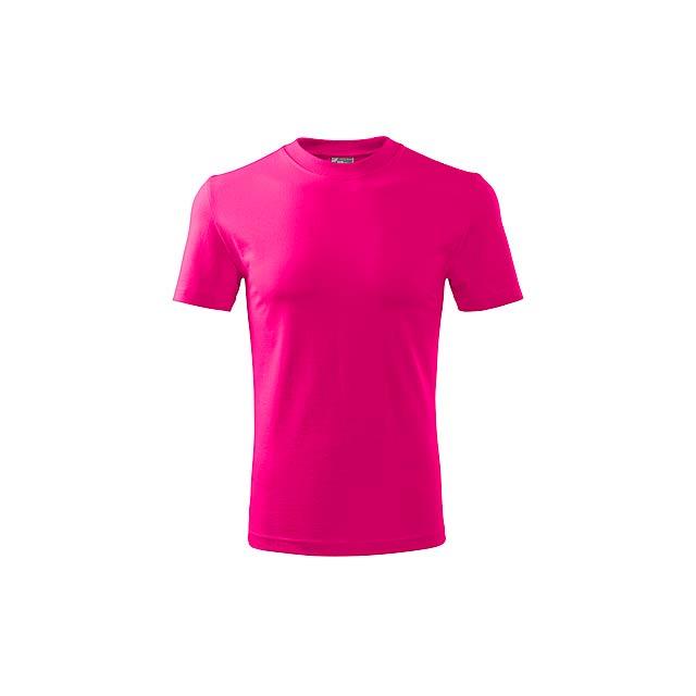 SHIRTY - unisex tričko, 200 g/m2, vel. L, ADLER - růžová