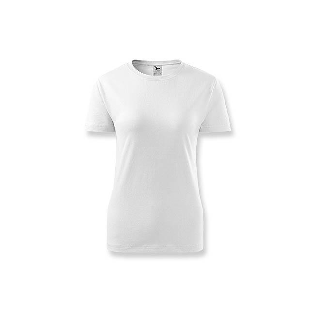 BASIC T-160 WOMEN - dámské tričko, 160 g/m2, vel. S, ADLER - bílá