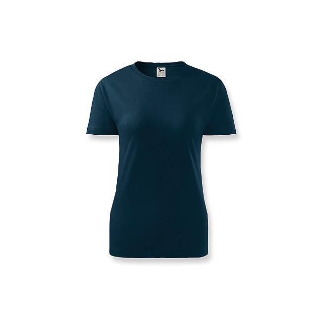 BASIC T-160 WOMEN - dámské tričko, 160 g/m2, vel. S, ADLER - modrá