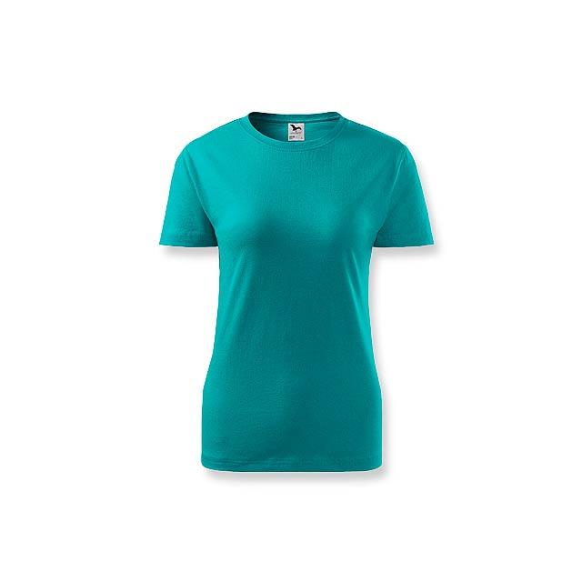 BASIC T-160 WOMEN - dámské tričko, 160 g/m2, vel. M, ADLER - zelená