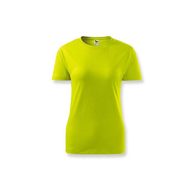 BASIC T-160 WOMEN - dámské tričko, 160 g/m2, vel. XXL, ADLER - zelená