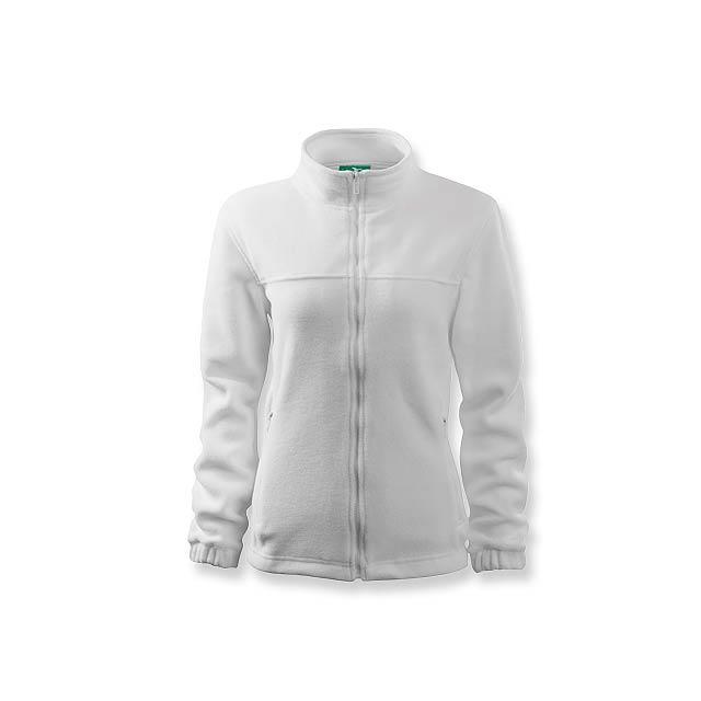 OLIVIE - dámská fleecová bunda, 280 g/m2, vel. L, ADLER - bílá