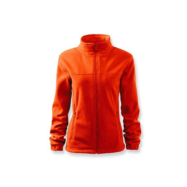 OLIVIE dámská fleecová bunda, 280 g/m2, vel. L, ADLER, Oranžová - oranžová