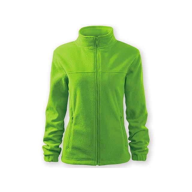 OLIVIE dámská fleecová bunda, 280 g/m2, vel. L, ADLER, Limetkově zelená - zelená