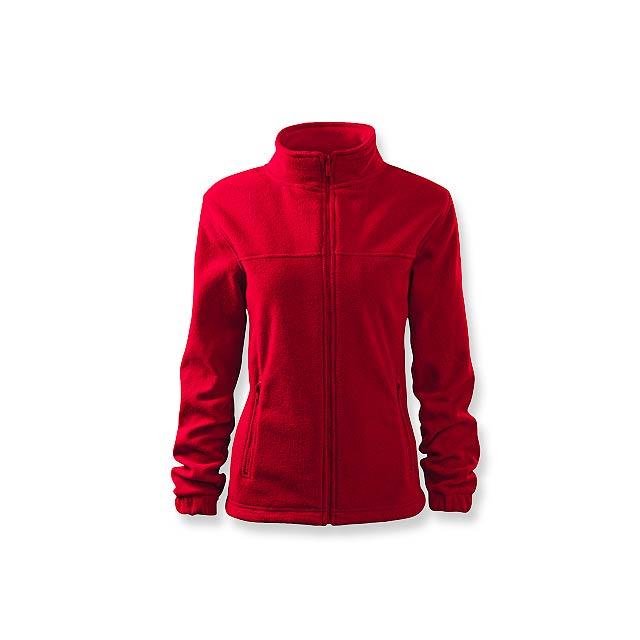 OLIVIE - dámská fleecová bunda, 280 g/m2, vel. XL, ADLER - červená