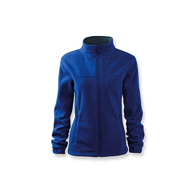 OLIVIE - dámská fleecová bunda, 280 g/m2, vel. XL, ADLER - modrá
