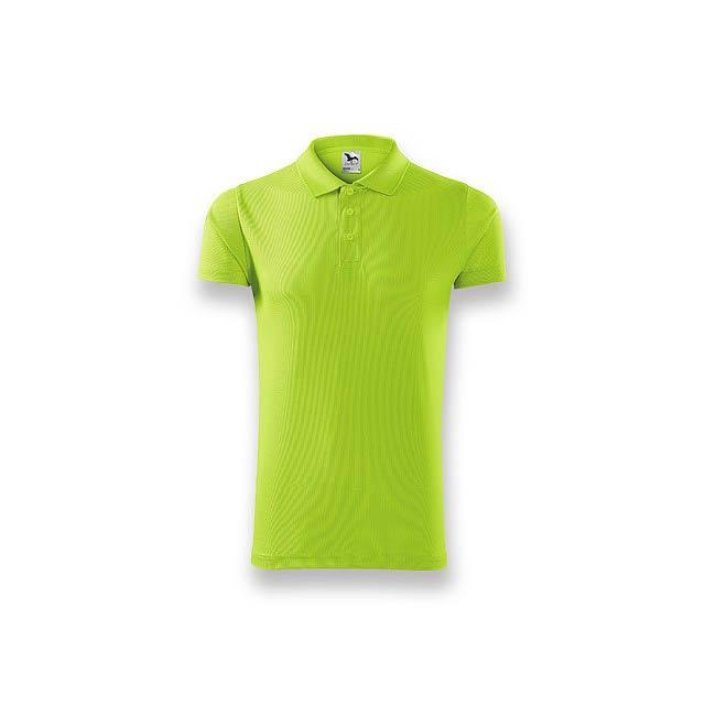 LUSTYG - pánská polokošile, 150 g/m2, vel. S, ADLER - zelená