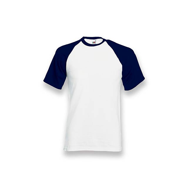 DOUBLER - unisex tričko, 165 g/m2, vel. M, FRUIT OF THE LOOM - modrá