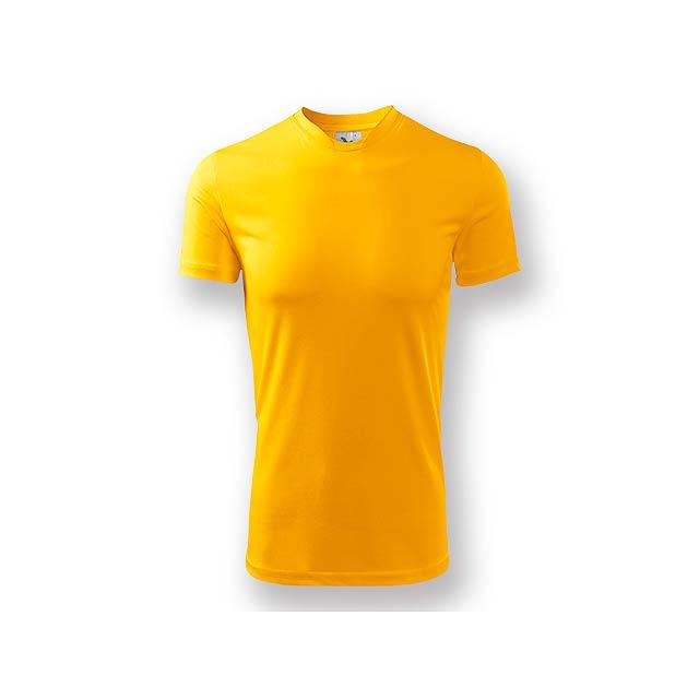 NEONY - Pánské tričko s krátkým rukávem. Vyrobeno z měkkého, hladkého materiálu, vhodné pro sport i celodenní nošení. - žlutá