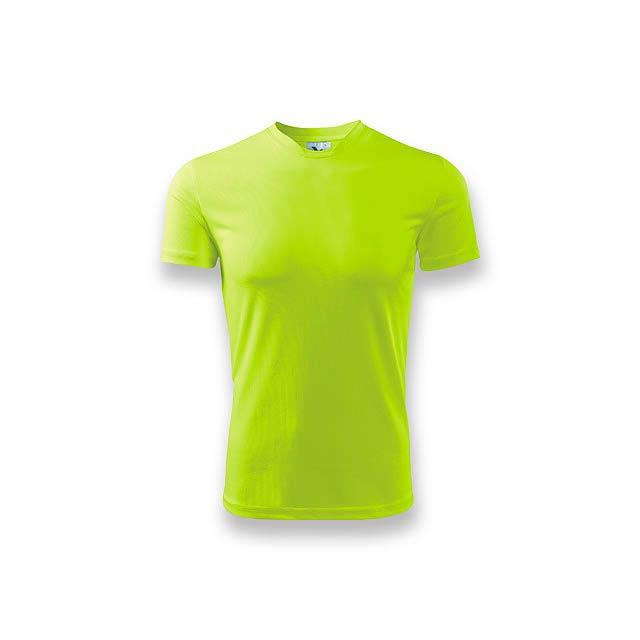 NEONY - pánské tričko, 150 g/m2, vel. M, ADLER - žlutá