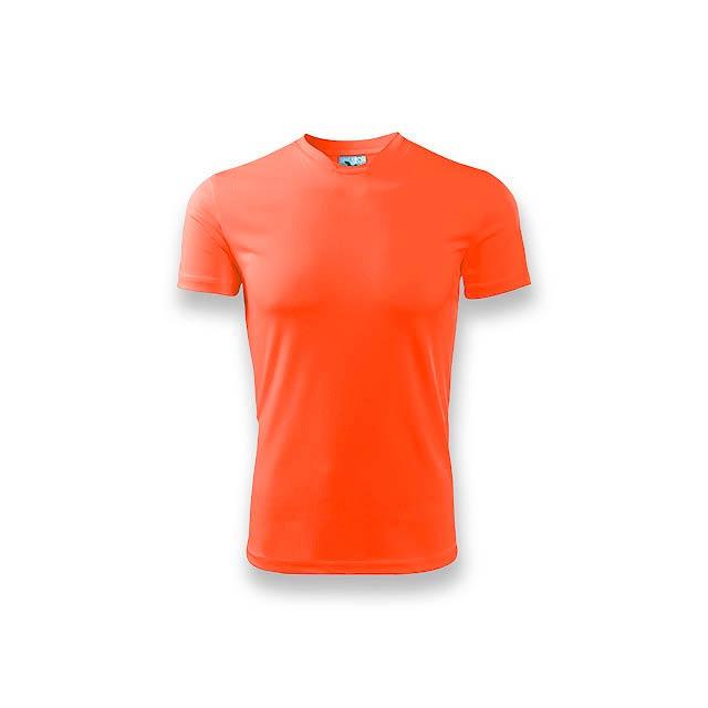 NEONY - pánské tričko, 150 g/m2, vel. XL, ADLER - oranžová