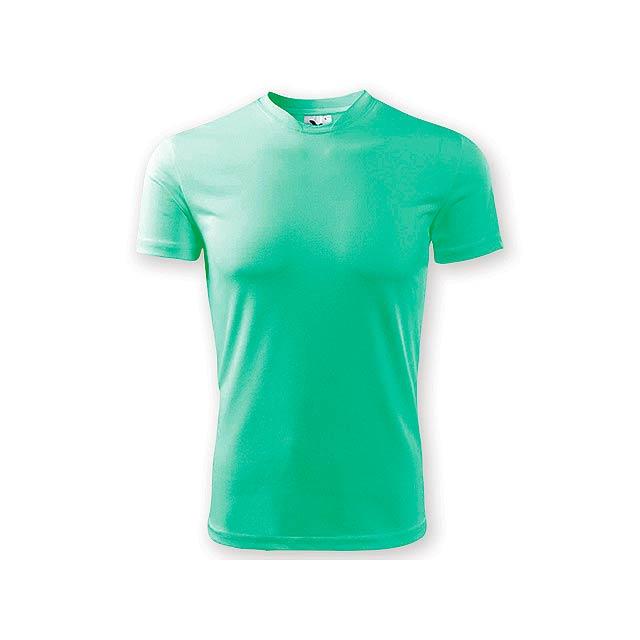 NEONY pánské tričko, 150 g/m2, vel. XL, ADLER, Tyrkysově zelená - zelená