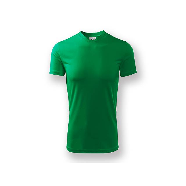 NEONY - Pánské tričko s krátkým rukávem. Vyrobeno z měkkého, hladkého materiálu, vhodné pro sport i celodenní nošení. - zelená