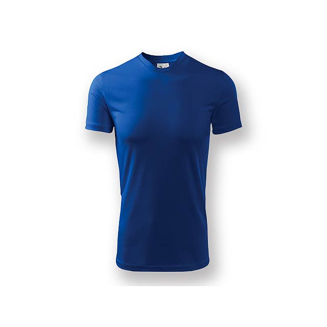 NEONY - Pánské tričko s krátkým rukávem. Vyrobeno z měkkého, hladkého materiálu, vhodné pro sport i celodenní nošení. - královsky modrá