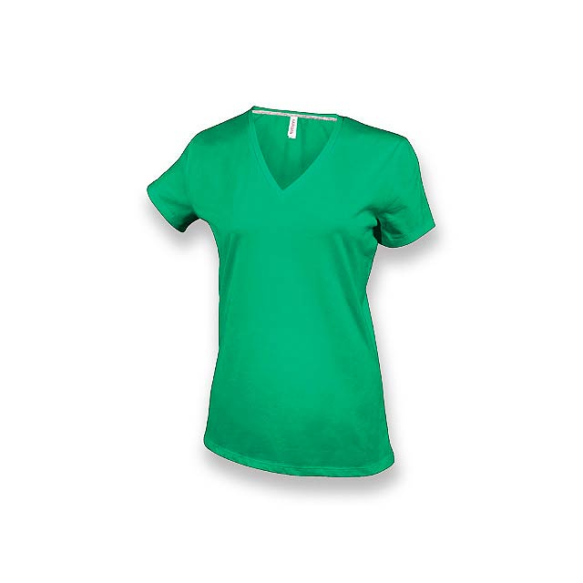 WOMY - dámské tričko, 180 g/m2, vel. XL, KARIBAN - zelená