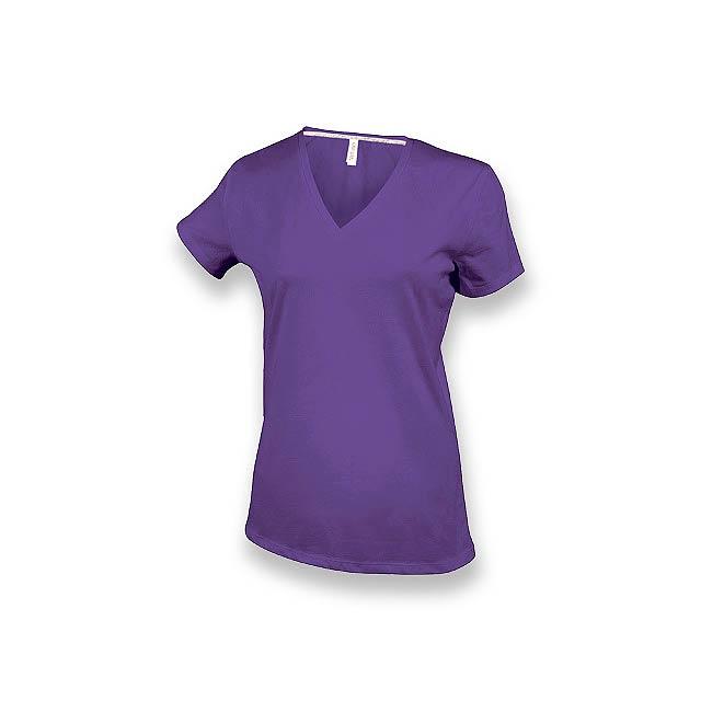 WOMY - dámské tričko, 180 g/m2, vel. XL, KARIBAN - fialová