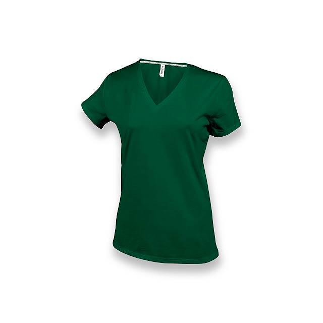 WOMY - dámské tričko, 180 g/m2, vel. 3XL, KARIBAN - zelená