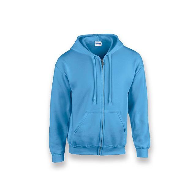 GILIS - mikina s kapucí, 280 g/m2, vel. S, GILDAN - modrá