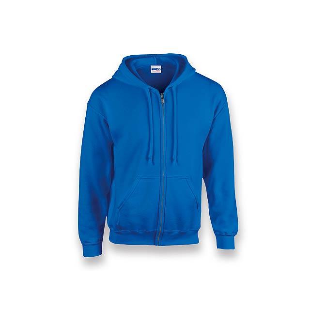GILIS - mikina s kapucí, 280 g/m2, vel. L, GILDAN - modrá