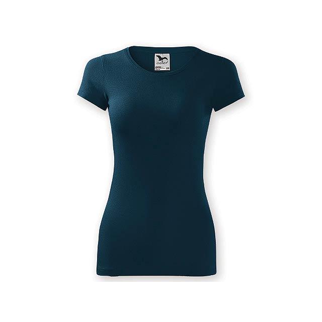 LORETANO dámské tričko, 180 g/m2, vel. L, ADLER, Noční modrá - modrá