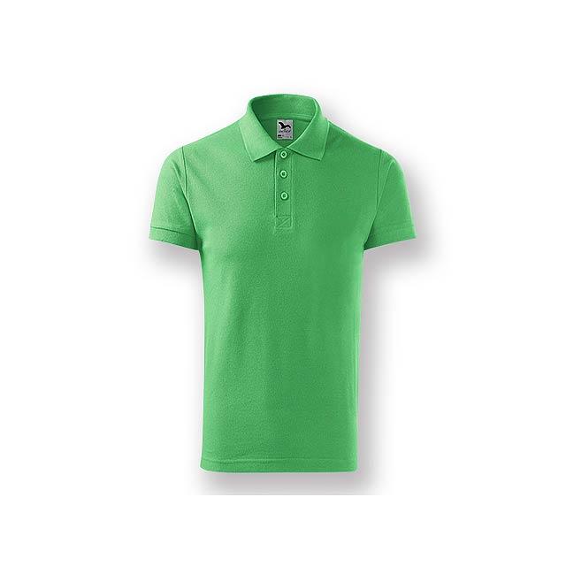 POLITO MEN pánská polokošile, 170 g/m2, vel. XXL, ADLER, Světle zelená - zelená