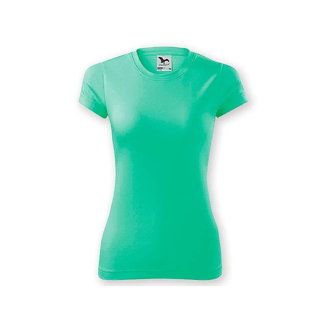 NEONY LADY dámské tričko, 150 g/m2, vel. XL, ADLER, Mátově zelená - zelená