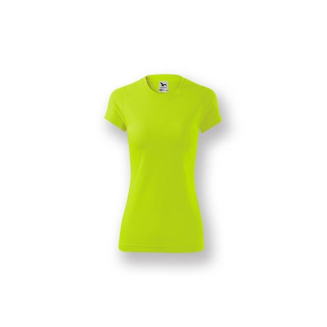 NEONY LADY - Dámské tričko s krátkým rukávem.           - žlutá
