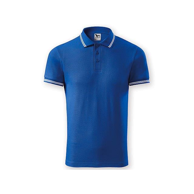 URBAN MEN pánská polokošile,  200 g/m2, vel. XL, ADLER, Královská modrá - modrá