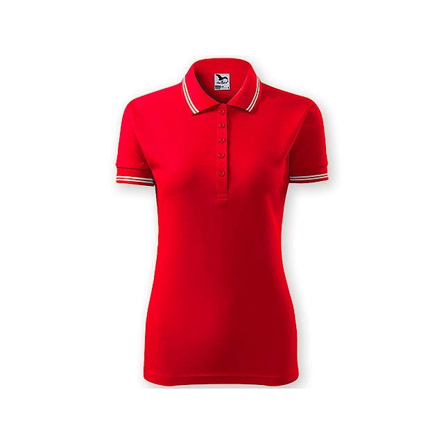 URBAN WOMEN dámská polokošile,  200 g/m2, vel. M, ADLER, Červená - červená