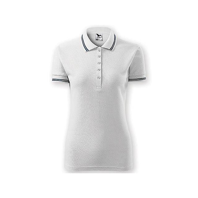 URBAN WOMEN dámská polokošile,  200 g/m2, vel. XL, ADLER, Bílá - bílá