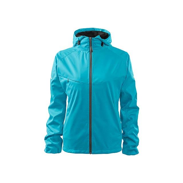 COOL JACKET WOMEN dámská bunda,  210 g/m2, vel. M, ADLER, Tyrkysová - zelená