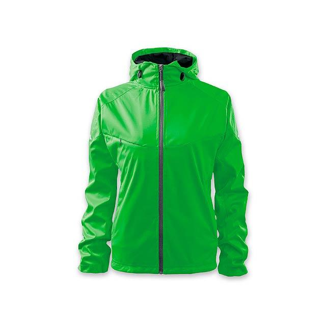 COOL JACKET WOMEN dámská bunda,  210 g/m2, vel. M, ADLER, Světle zelená - zelená