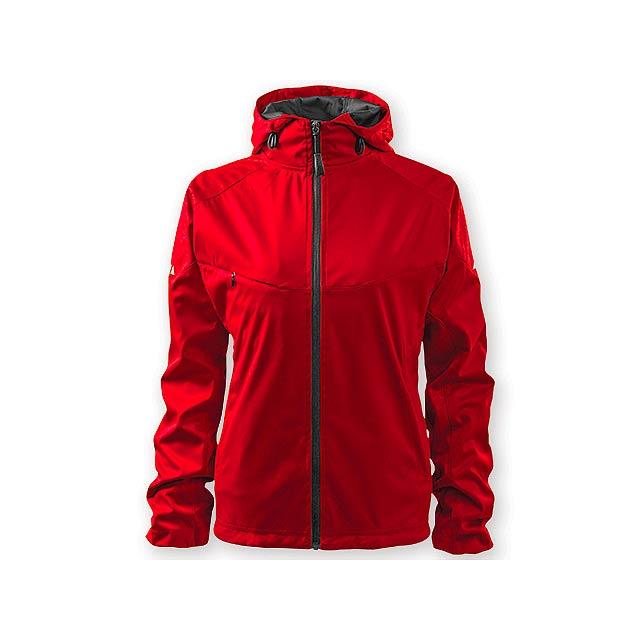 COOL JACKET WOMEN dámská bunda,  210 g/m2,  vel. XL, ADLER, Červená - červená