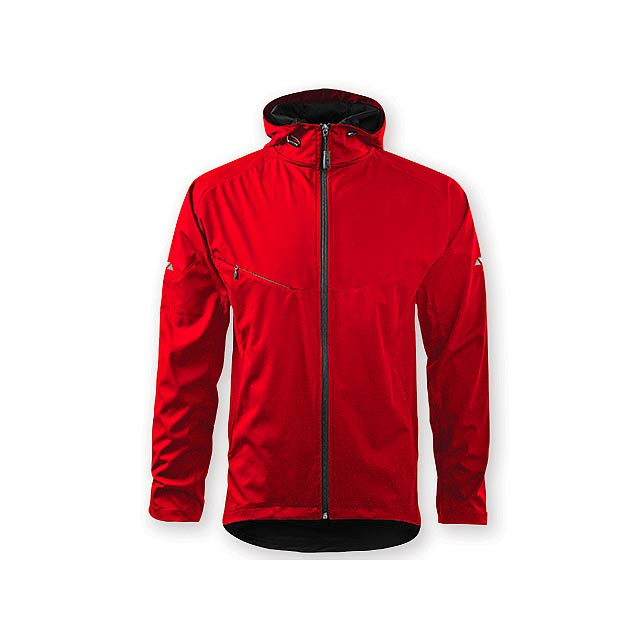 COOL JACKET MEN pánská bunda,  210 g/m2, vel. M, ADLER, Červená - červená