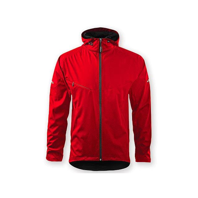 COOL JACKET MEN pánská bunda,  210 g/m2, vel. L, ADLER, Červená - červená