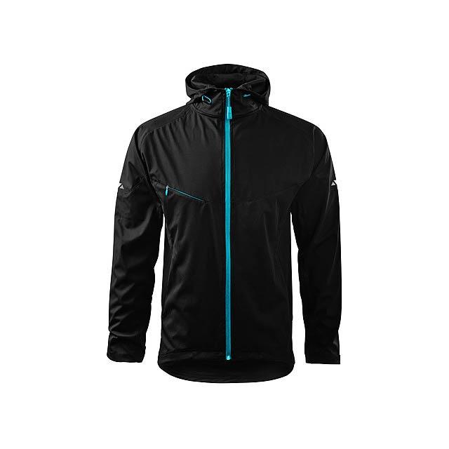 COOL JACKET MEN pánská bunda,  210 g/m2, vel. XL, ADLER, Černá - černá
