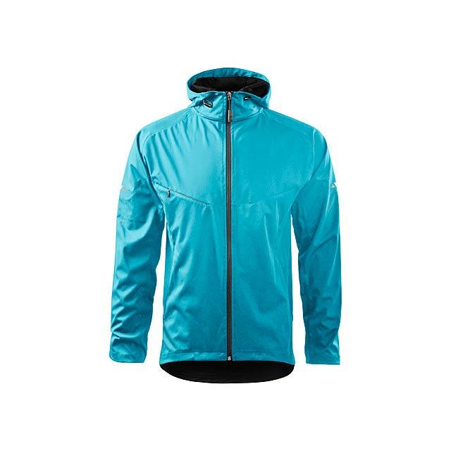 COOL JACKET MEN pánská bunda,  210 g/m2, vel. XL, ADLER, Tyrkysová - zelená