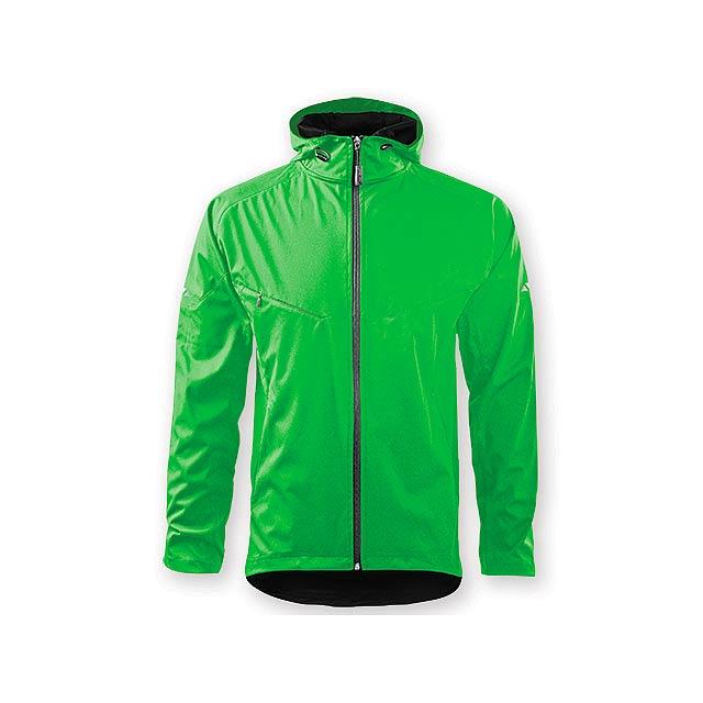COOL JACKET MEN pánská bunda,  210 g/m2, vel. XL, ADLER, Světle zelená - zelená