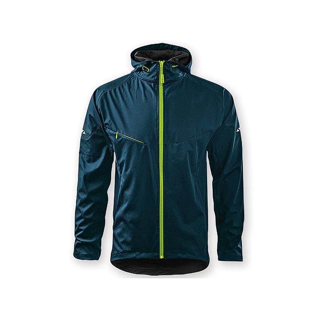 COOL JACKET MEN pánská bunda,  210 g/m2, vel. XXL, ADLER, Noční modrá - modrá