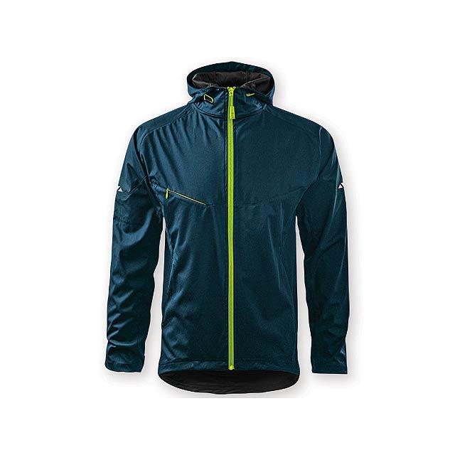 COOL JACKET MEN pánská bunda,  210 g/m2,  vel. 3XL, ADLER, Noční modrá - modrá