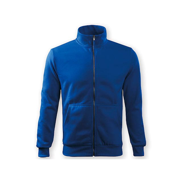 MIKI MEN pánská mikina,  300 g/m2, vel. XXL, ADLER, Královská modrá - modrá