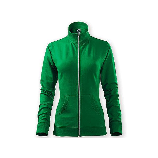 MIKI WOMEN dámská mikina,  300 g/m2, vel. XS, ADLER, Zelená - zelená