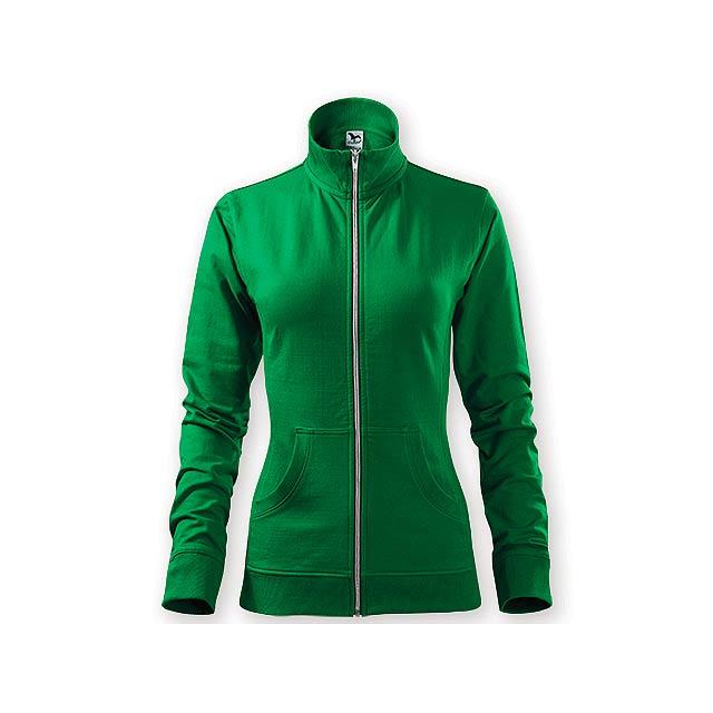 MIKI WOMEN dámská mikina,  300 g/m2, vel. XL, ADLER, Zelená - zelená