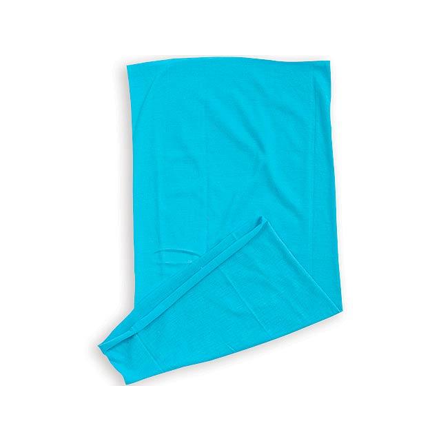 MULTISCARF multifunkční šátek, MYRTLE BEACH, Tyrkysová - zelená