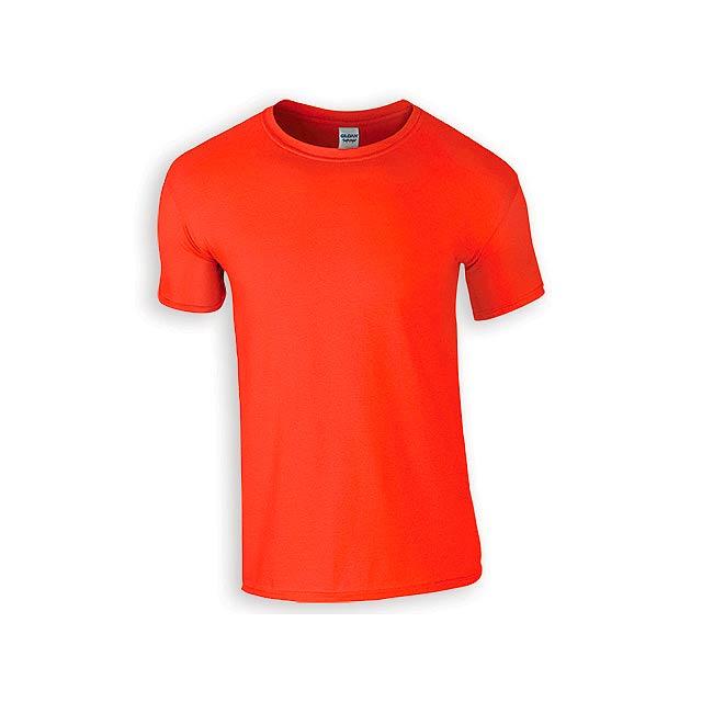 ZIKI MEN pánské tričko, 153 g/m2, vel. S, GILDAN, Oranžová - oranžová
