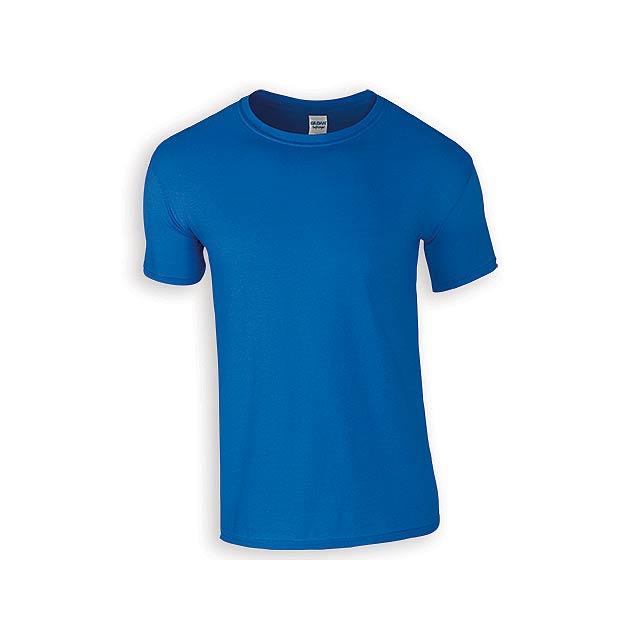 ZIKI MEN pánské tričko, 153 g/m2, vel. S, GILDAN, Královská modrá - modrá